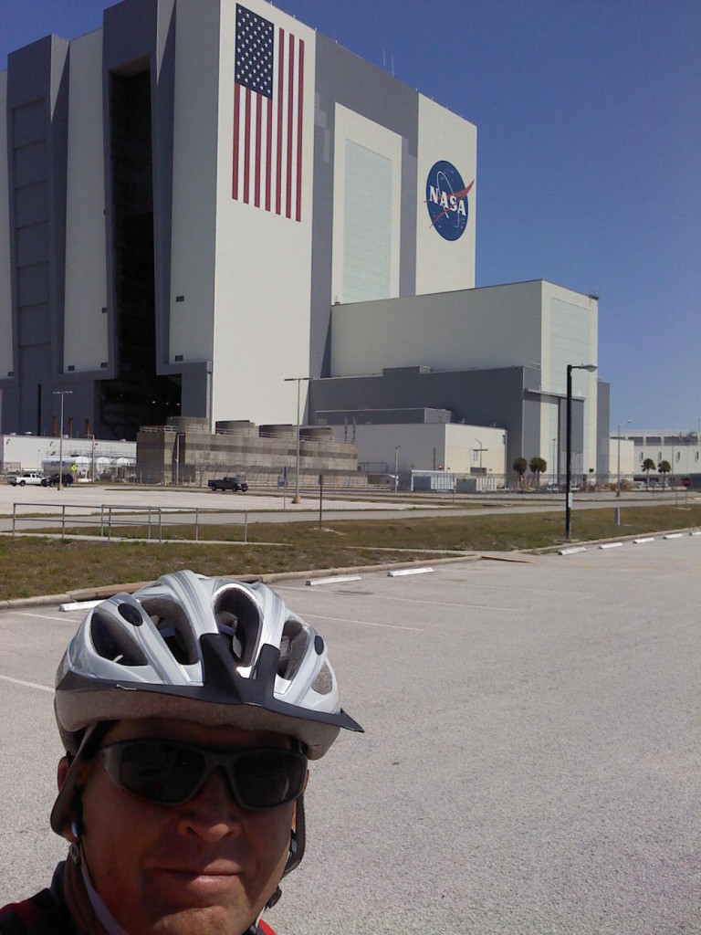 Kennedy Space Center is a great place to ride