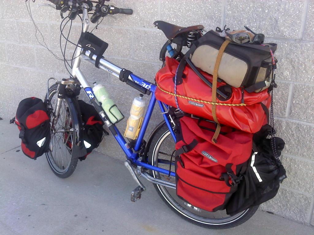 My fully loaded bike