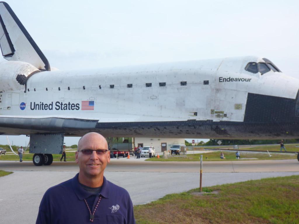 The last landing of Endeavour