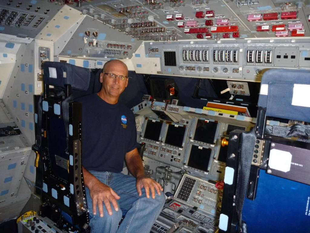 My last time in a spaceship Commander's seat of Endeavour