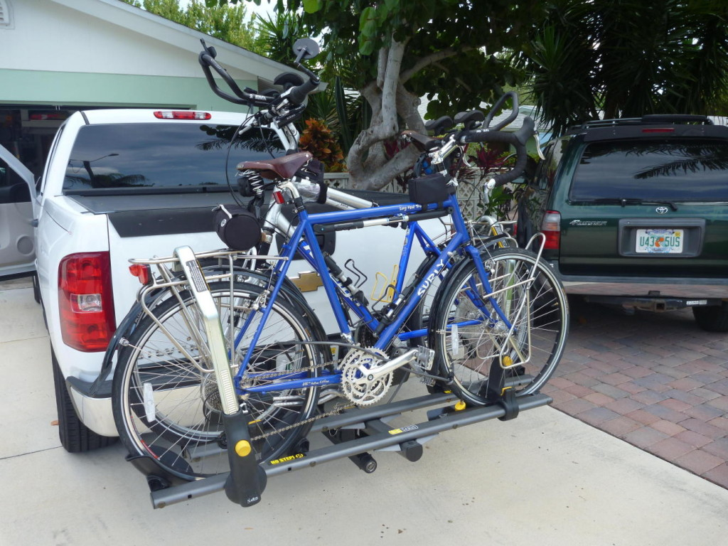 Going to Matt's Bicycle Center in Cocoa Beach for a final tuneup.