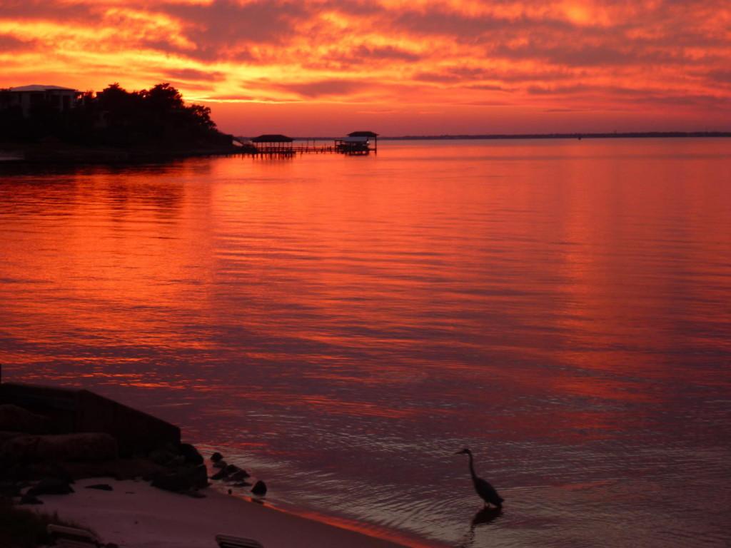 One last beautiful Florida sunset.