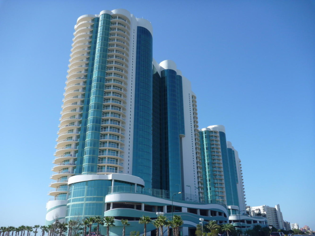 I am amazed at the size and number of condos along the Gulf Coast.