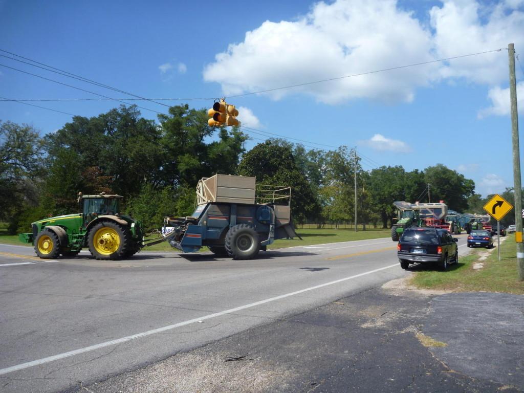 A farming parade!