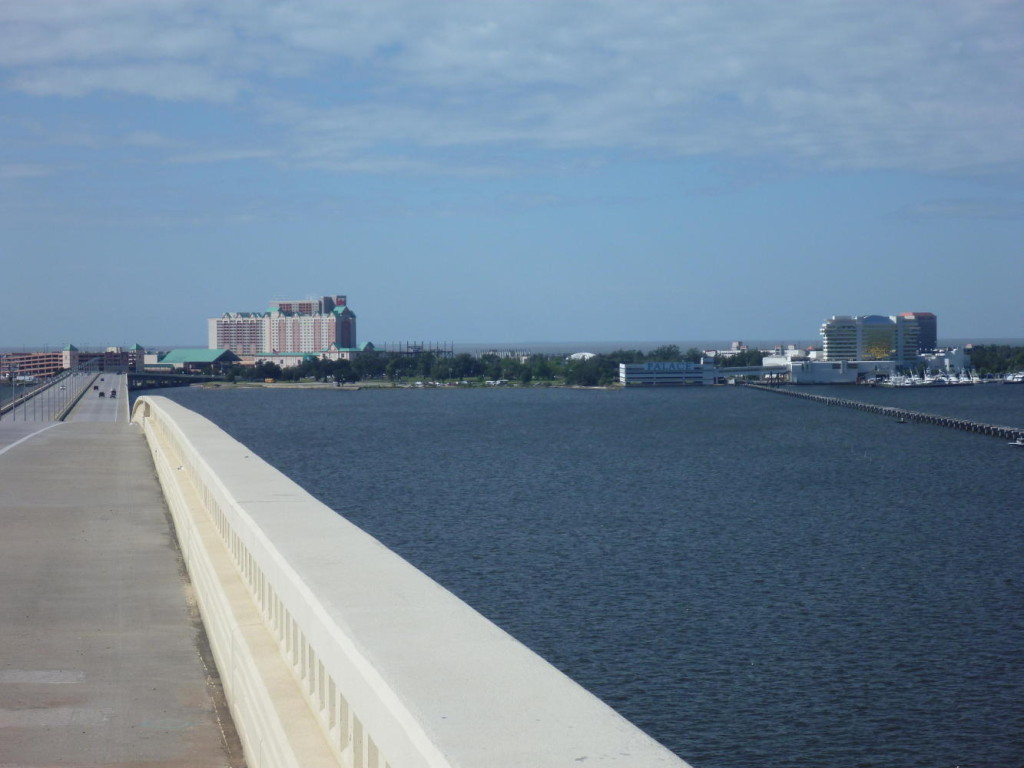 The bridge to Biloxi.