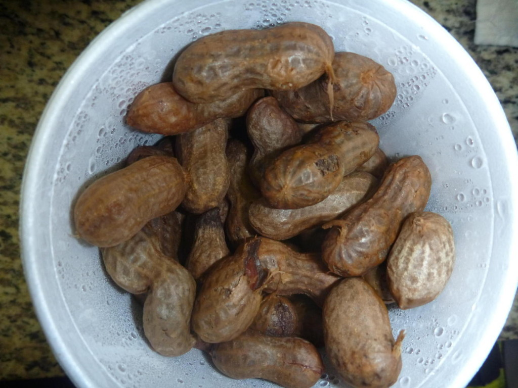 Louisiana boiled peanuts!