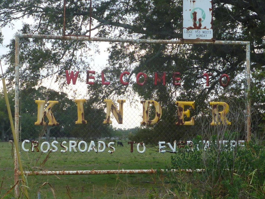 "Kinder, Louisiana ""Crossroads to Everywhere"""