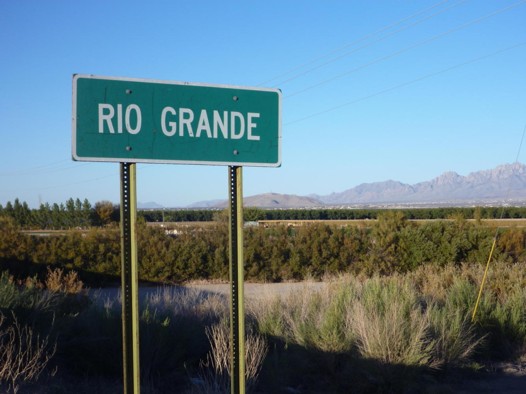the Rio Grande is...