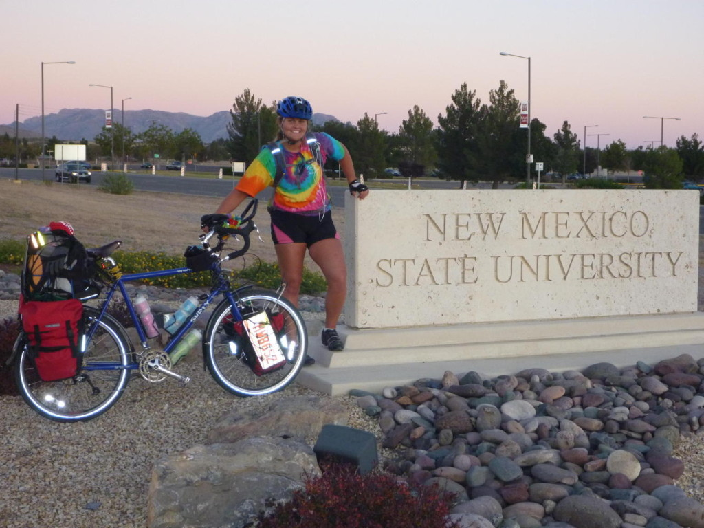 We rode through NMSU.