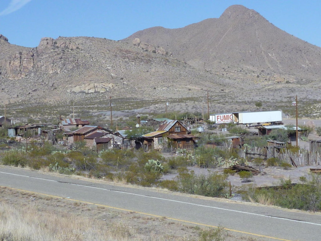 An old town before the NM/Arizona border.