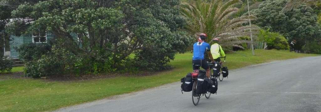 They are headed south to Greymouth - our destination for tomorrow.