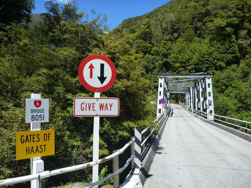 I can call Haast Pass Gates of another place!