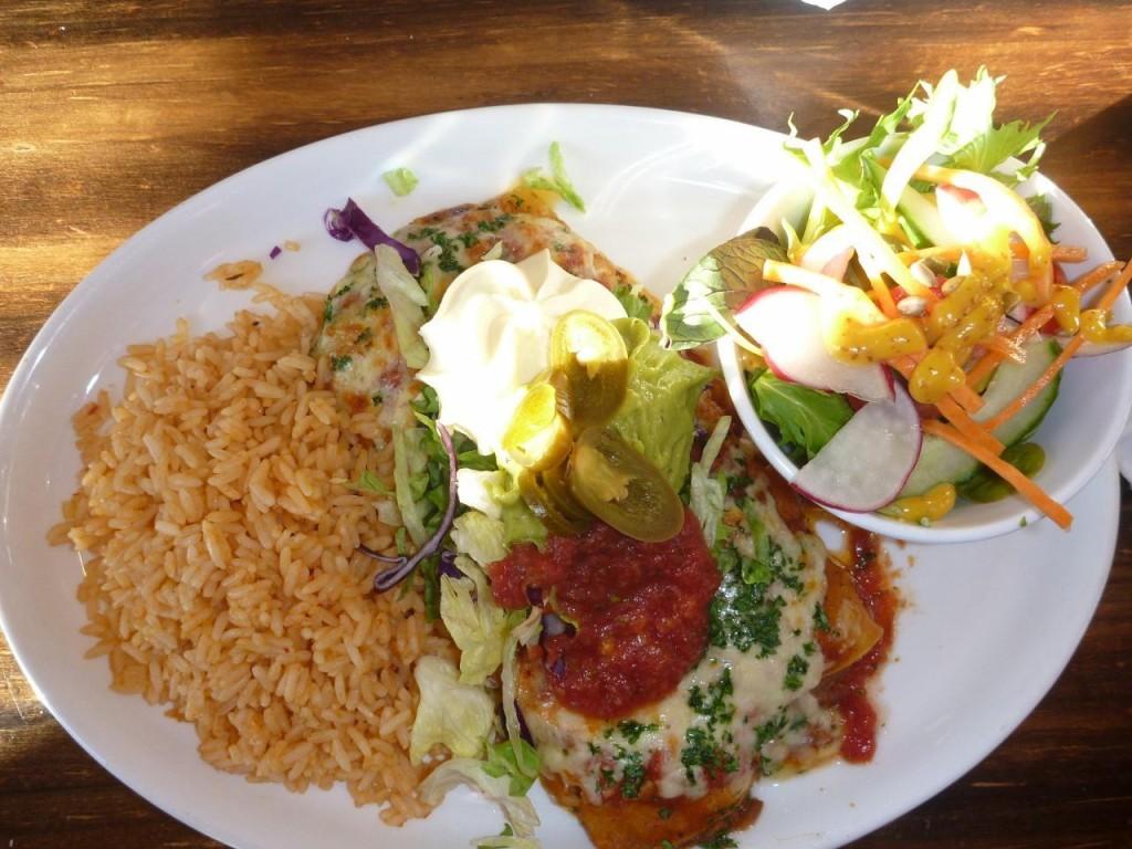 I had the enchiladas...