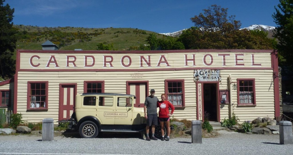 Cardrona Hotel - a somewhat famous stop for cyclists riding over the Crown Range on the way to Queenstown.