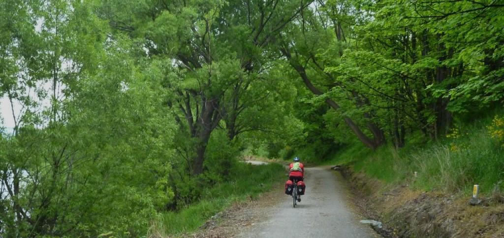 """A """"proper"""" bike path."""