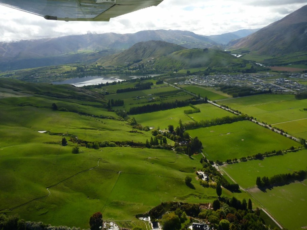 New Zealand is about as green as it can get.