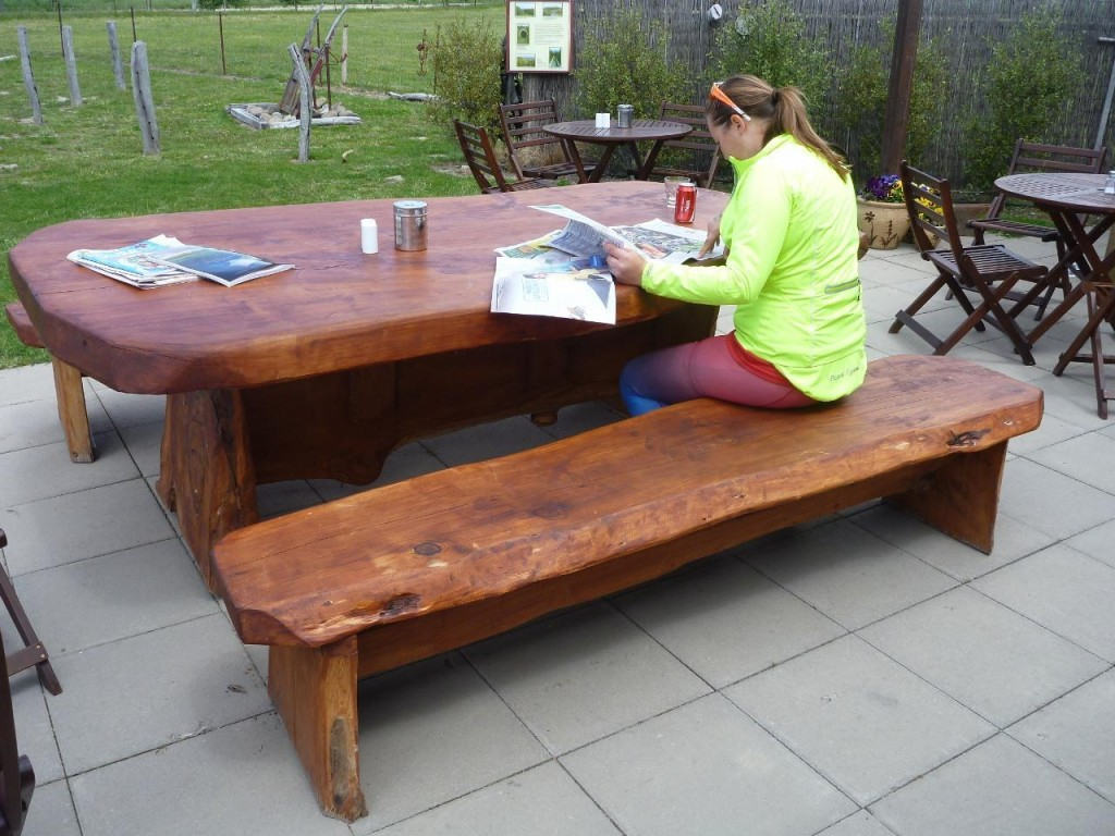 What a picnic table!