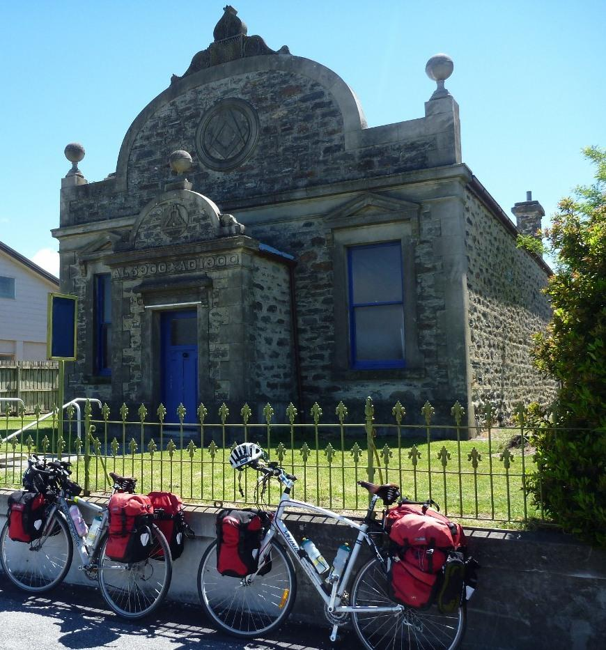 An old Masonic Lodge.