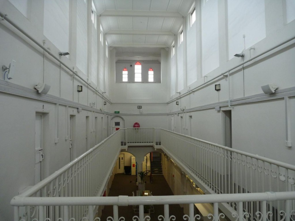 A few more jail pictures. The 2nd floor.