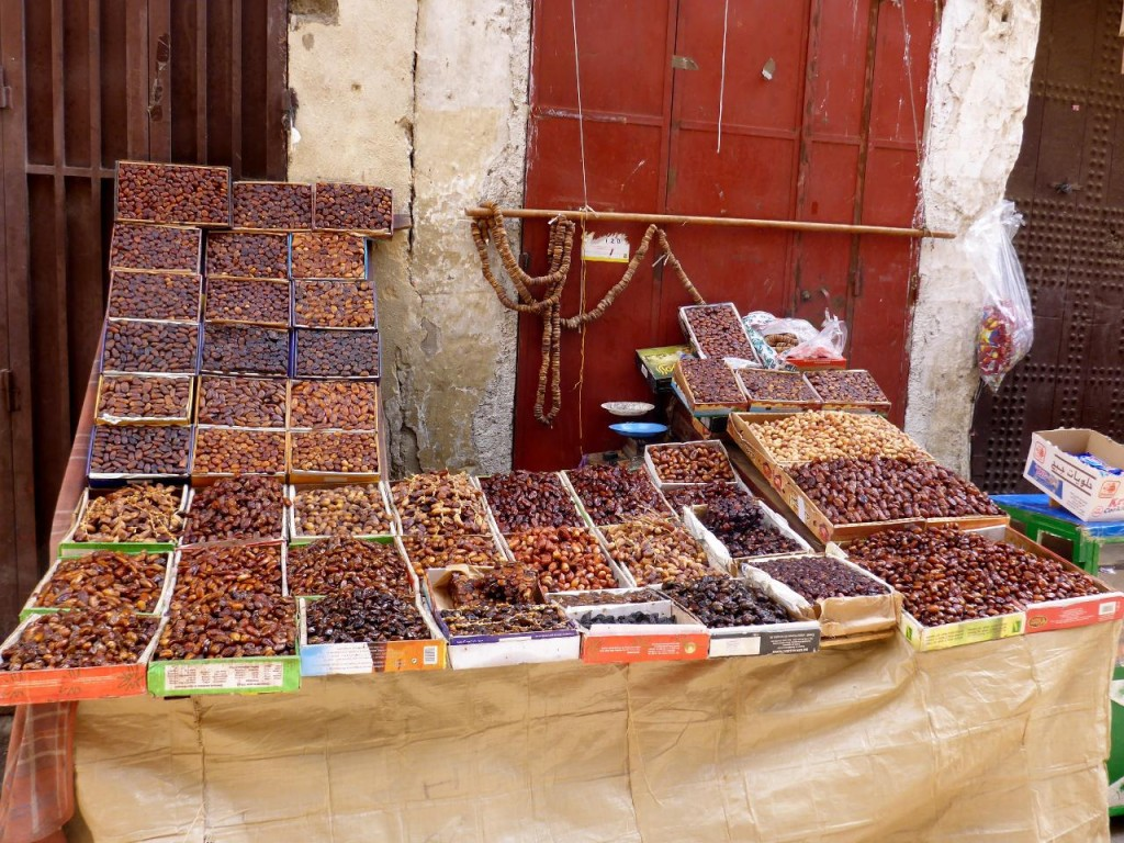 Morocco produces 40 varieties of dates.