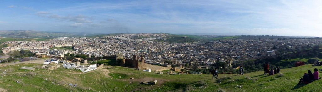 The fascinating walled Medina of Fez.