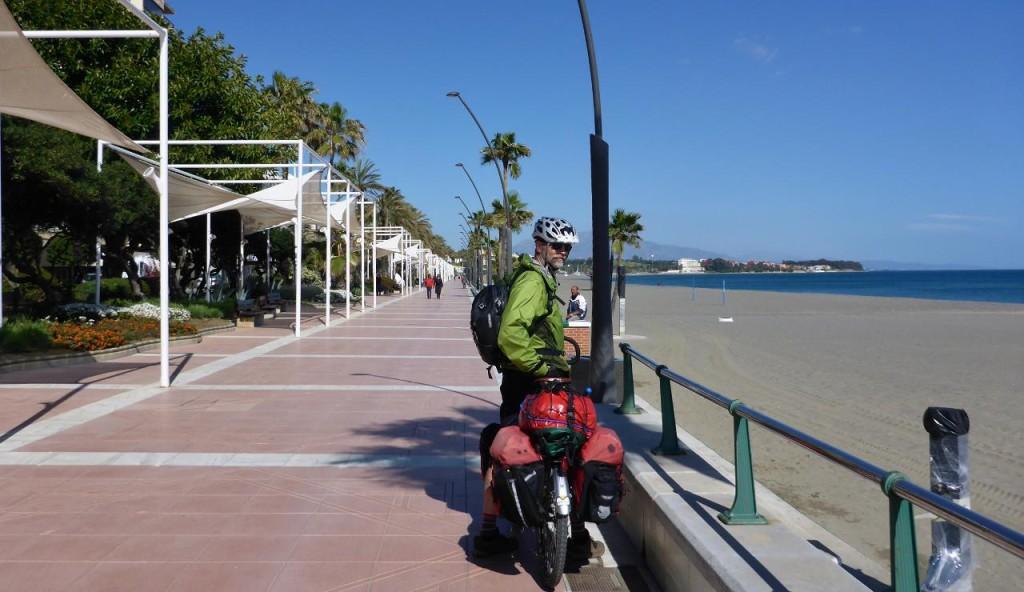 A beautiful boardwalk ride.