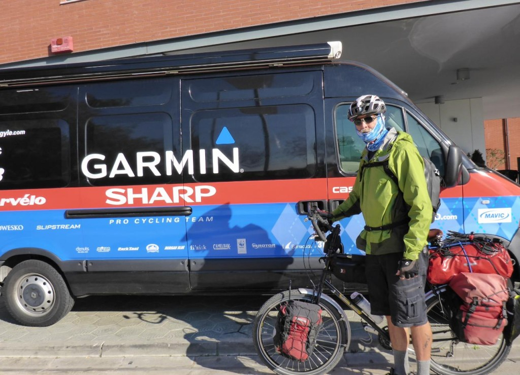 The Garmin Cycling Team doesn't have anything on this Father and Daughter Team!