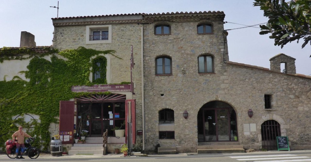 The building was originally a police station then a family bought it 60 years ago to make wine.