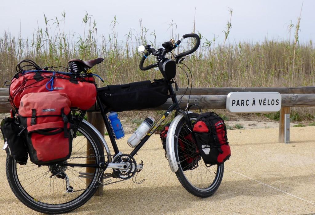 Bicycle parking.