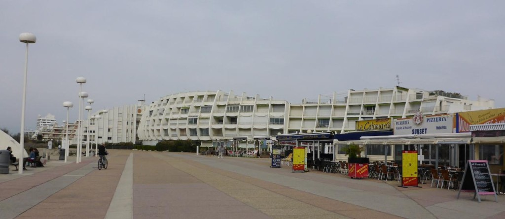 The beach areas have massive number of condos. It is about a month from the tourist season.