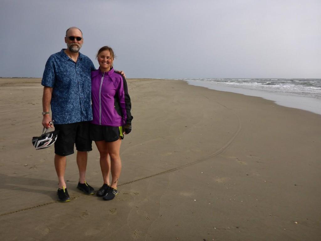 Brian showed us his local beach.