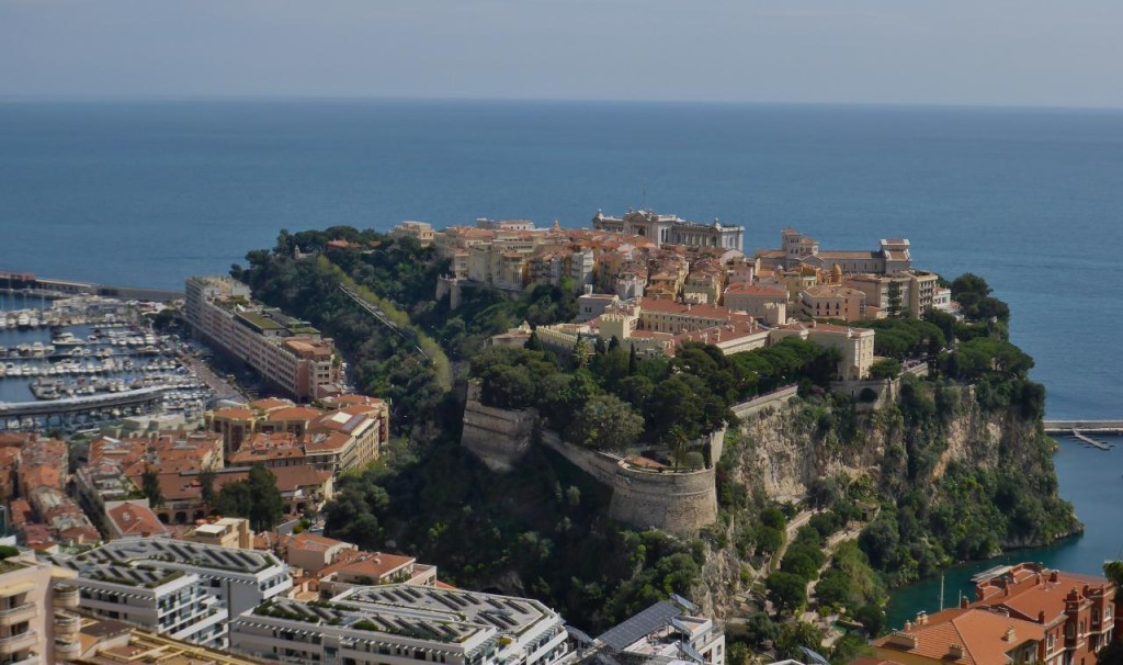 "The Prince of Monaco lives on ""the rock""."