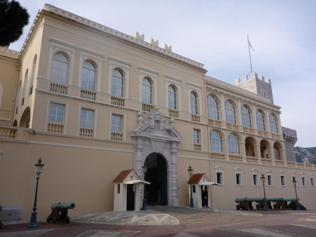 His palace.