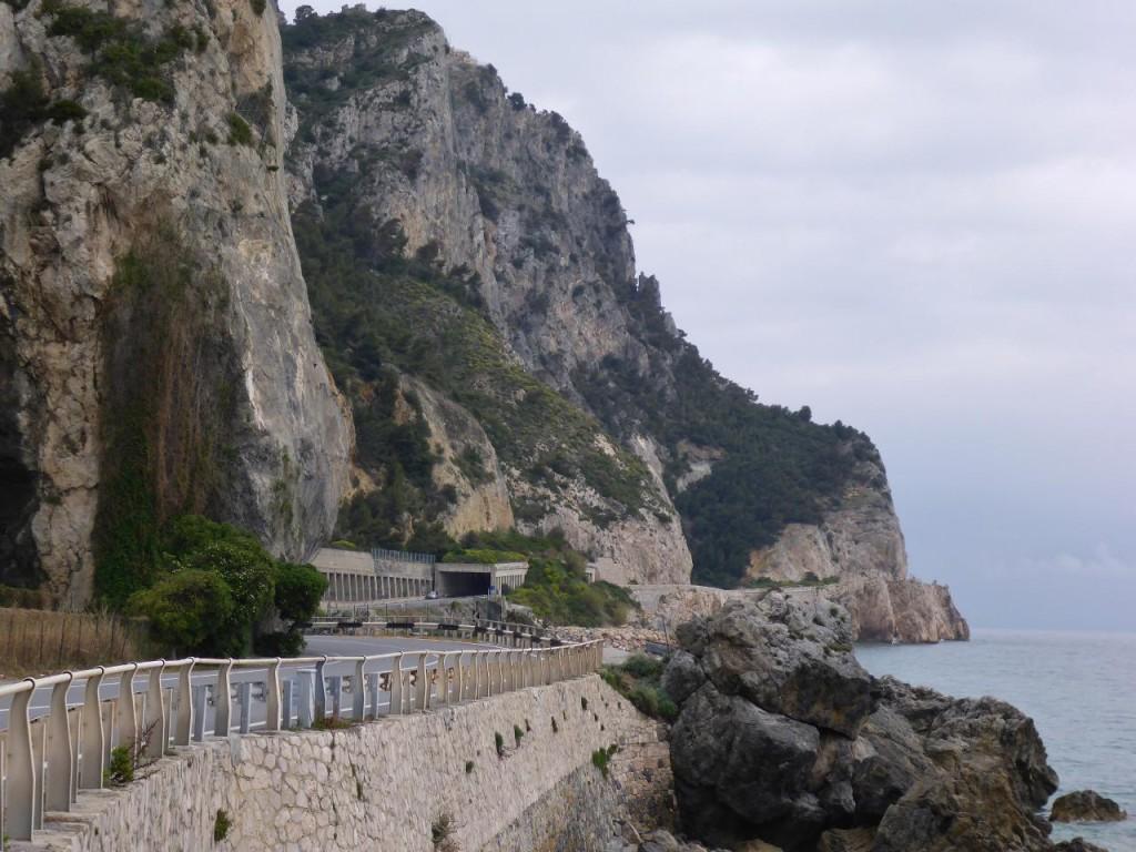 A very rocky coastline.