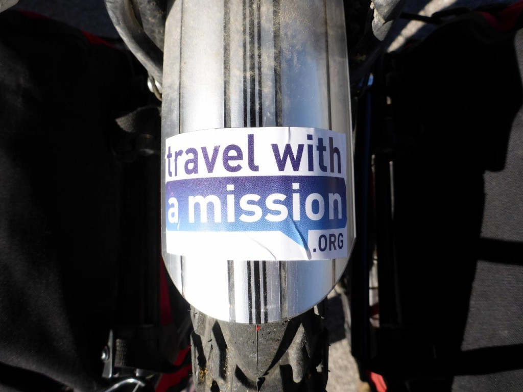 Our host from France created travelwithamission.org.