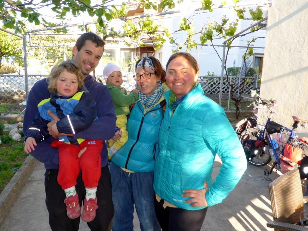 Marko, Zoya, Rina and Melita - what a wonderful family.