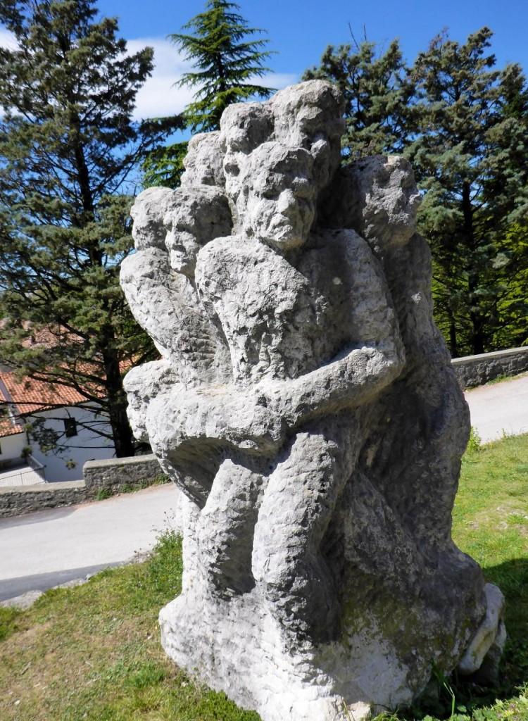An eroded sculptor.