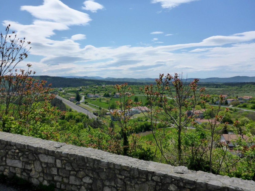 A view from the castle wall.