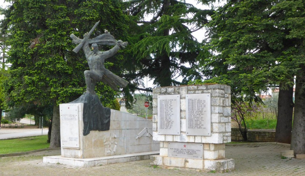 There are many war memorials in Croatia.