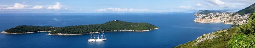 An island off of Dubrovnik.