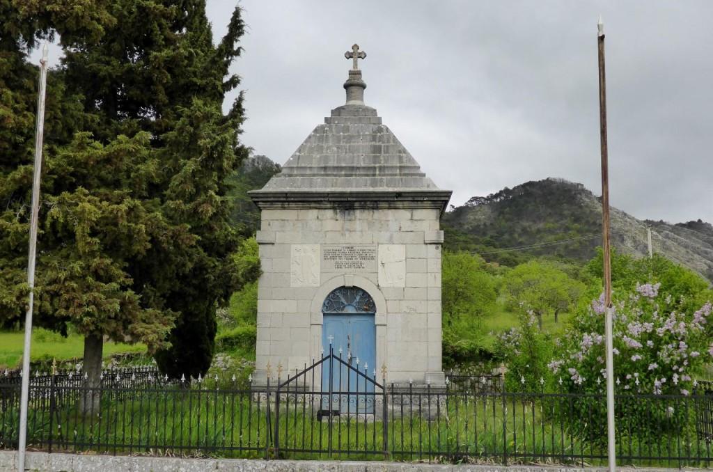Bosnia is full of roadside memorials.