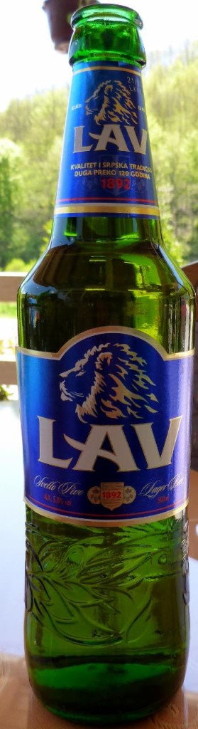 Our first Serbian beer.