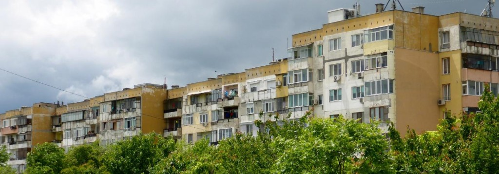 Bulgarian apartments.