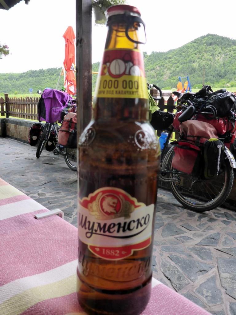 A fine Bulgarian beer.