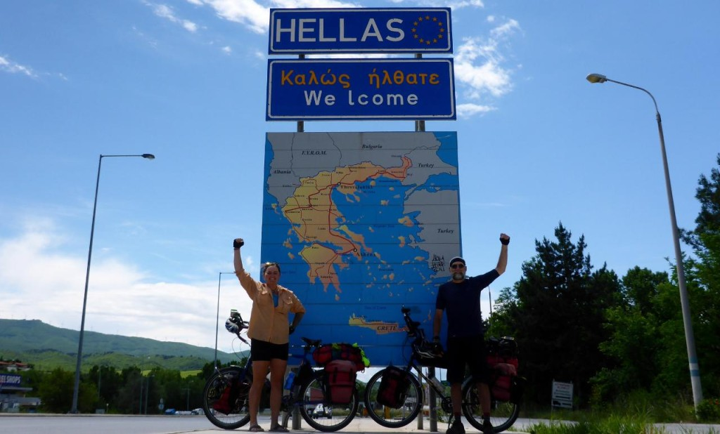 Greece achieved! 90 days, 13 countries, 3,000 miles.