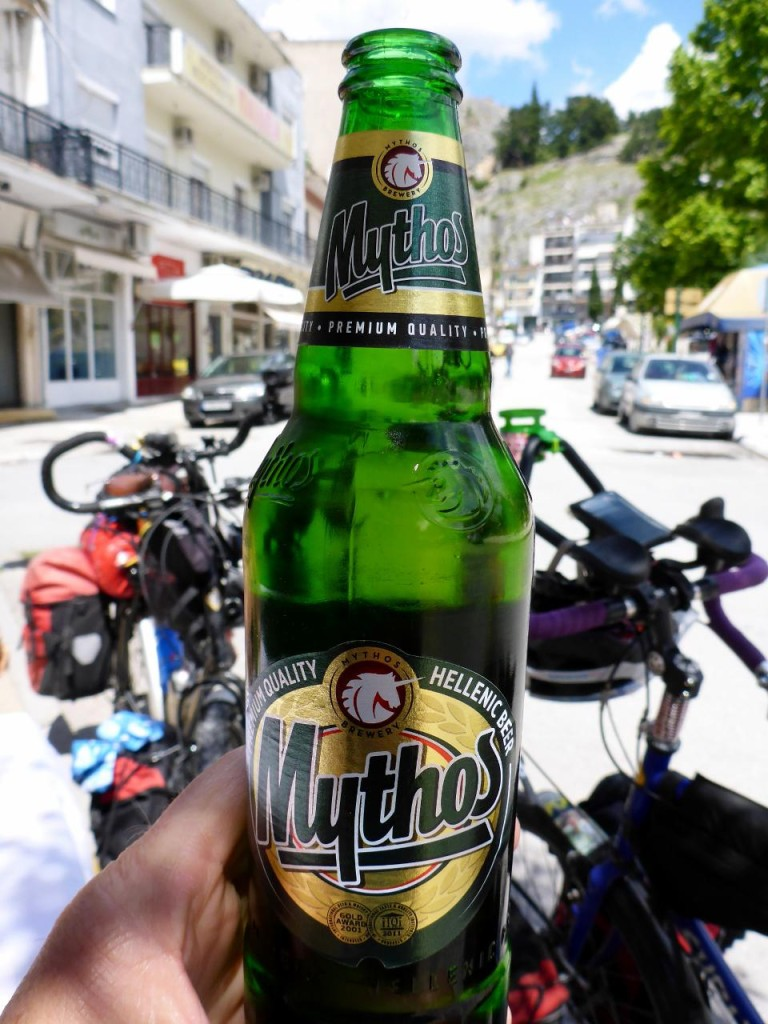 A fine Greek beer.