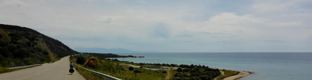 A fine coastal ride along Greece.