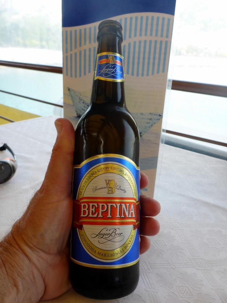 Another fine Greek beer.