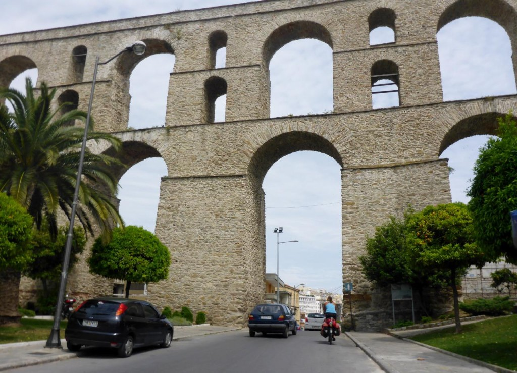 A Byzantine aqueduct.