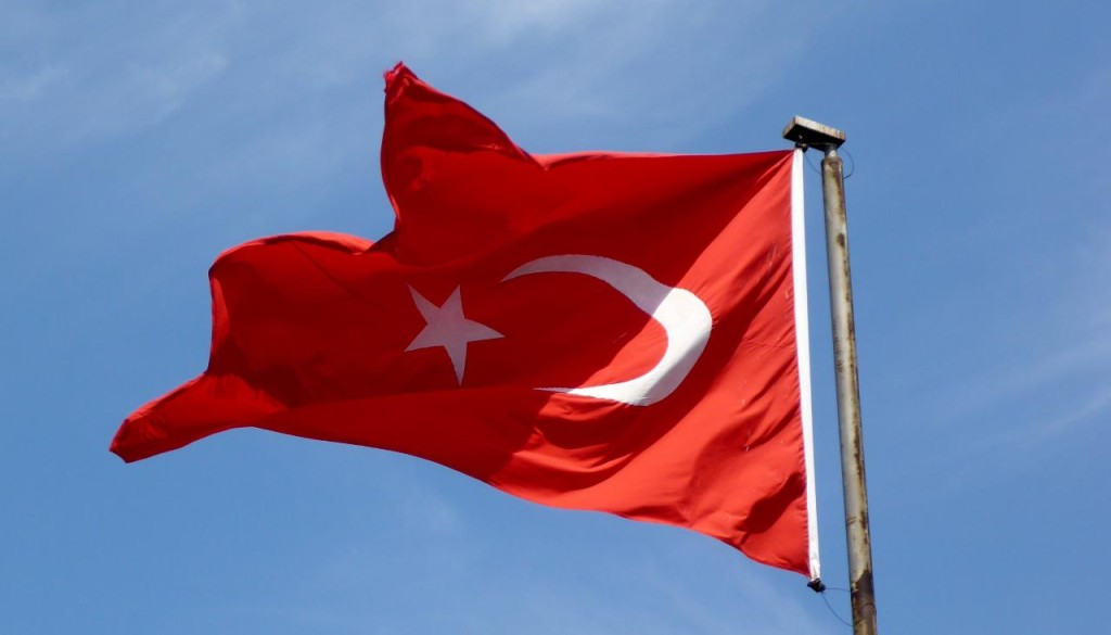 Turk flag.